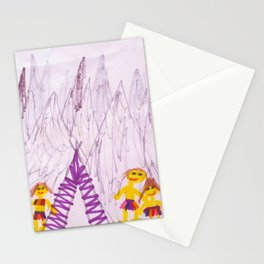 going outside by pascal Stationery Cards