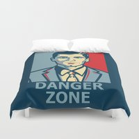 archer Duvet Covers featuring Archer by Mental Activity