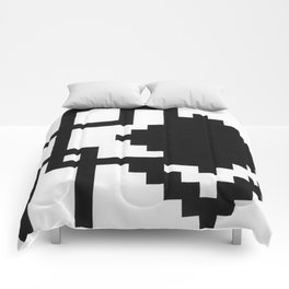 Boxes and Squares Comforters