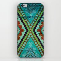 aztec iPhone & iPod Skins featuring AZTEC by ED design for fun
