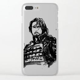 the last samurai Clear iPhone Case