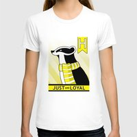 hufflepuff T-shirts featuring Hufflepuff Badger by makoshark