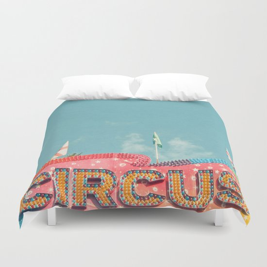 Circus Lights Duvet Cover