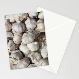 Garlic food pattern Stationery Cards