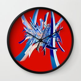 Last of the Samurai Wall Clock