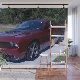 100th Anniversary Challenger with rare shaker hood Wall Mural