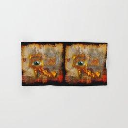 Desert Fire - Eye of Horus Hand & Bath Towel