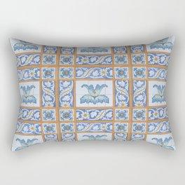 Vintage Art Nouveau Tiles Rectangular Pillow