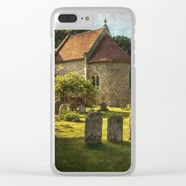 St Peter and St Paul Checkendon Clear iPhone Case