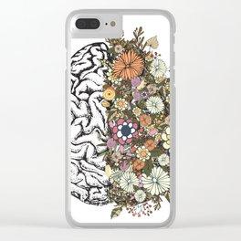 Anatomy Brain Clear iPhone Case