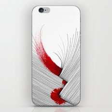 Impact (white version) iPhone & iPod Skin