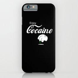 Cocaine Cocaine Tubes Drug Cocaine Accessories iPhone Case