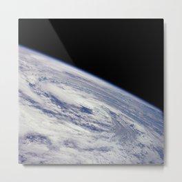Apollo 7 - Earth Hurricane Metal Print