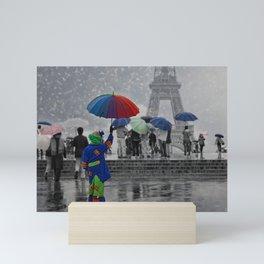 Bonjour Paris! Mini Art Print