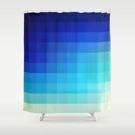 Abstract Deep Water Utukku Shower Curtain