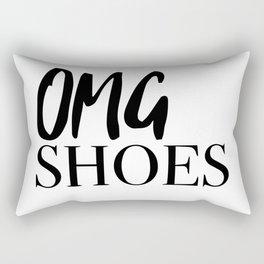 OMG shoes Rectangular Pillow
