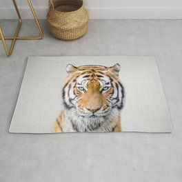 Tiger - Colorful Rug