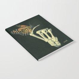 Butterfly & Bones Notebook