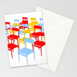 25 Chairs Stationery Cards