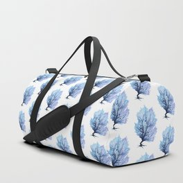 Fan Coral - Blue Duffle Bag