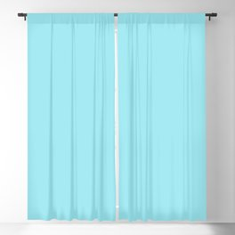 DPCSD Light cyan color Blackout Curtain