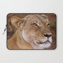 Lioness in Africa, wildlife Laptop Sleeve