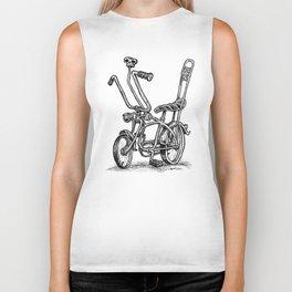 Skull Shifter Muscle Bike - Cartoon Retro Mod Stingray Bicycle Rat Rod Biker Tank