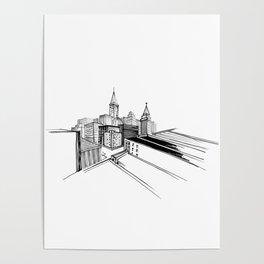 Vibrant city 6 Poster