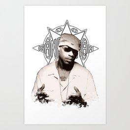 Guru // GangStarr Art Print