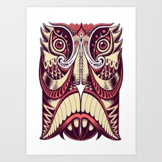 Spirit Mask Art Print