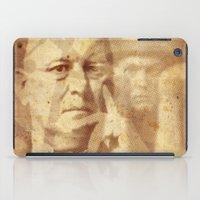 crowley iPad Cases featuring Mr. Crowley by Rodrigo Grola