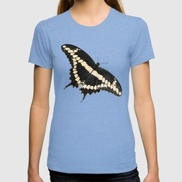 Butterfly Illustrated Print T-shirt