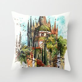 Calle Aldama, San Miguel de Allende Throw Pillow