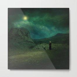 Moonloop Metal Print