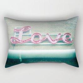 Sign of Love Rectangular Pillow