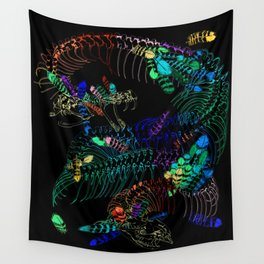 Anatomical Quetzalcoatl 2 Wall Tapestry
