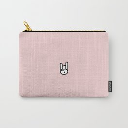 Metal Horns Carry-All Pouch