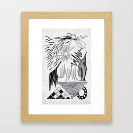 sweet sound Framed Art Print