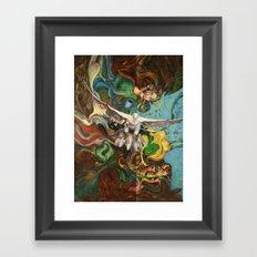 Freedom (original) Framed Art Print