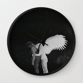 Daryl Dixon and Beth Green pt.II Wall Clock