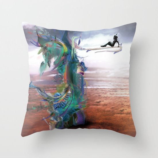 Tissin:nt Throw Pillow