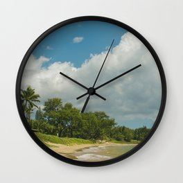 Waiohuli Maui Beaches Kihei Maui Hawaii Wall Clock
