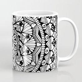 Black & White - I See You - Mandala Coffee Mug