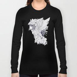 Sikelgaita Lombard Princess in Armor; Adult Coloring  Long Sleeve T-shirt