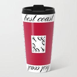 Best Coast By Avte Clothing. Travel Mug