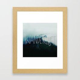 Wanderlust: Columbia River Gorge Framed Art Print