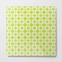 Plummer Lime Metal Print