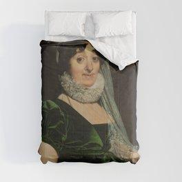 "Jean-Auguste-Dominique Ingres ""Portrait of the Countess of Tournon"" Comforters"