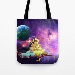 Aladin With Honey  Journey To Galaxi Stars Tote Bag