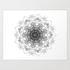 mandala - muse 2 Art Print